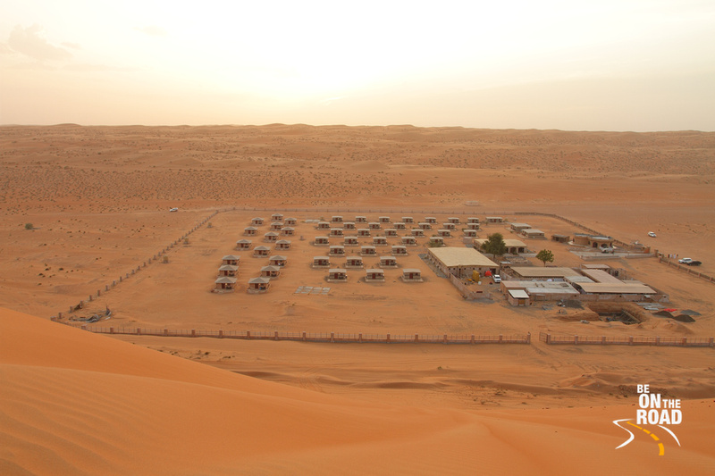 The Arabian Oryx Desert Camp at Wahiba Sands, Oman