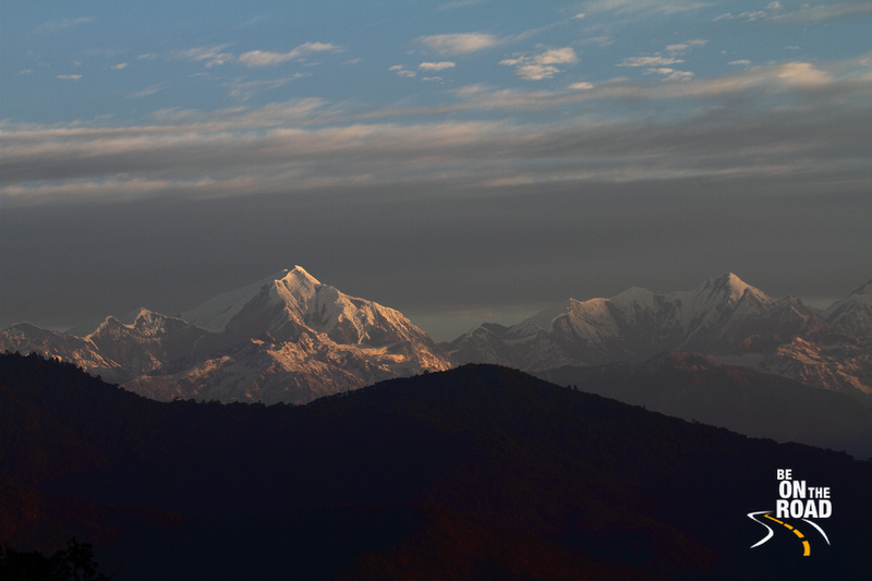 Sunrise over the Eastern Himalayas
