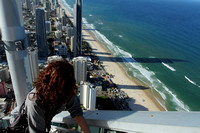 Gorgeous Gold coast from the top of SkyPoint