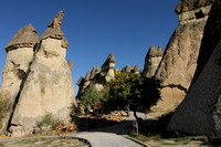 Scenic walk through Monks Valley, Cappadocia