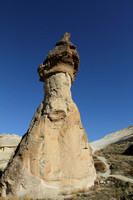 Mushroom structure at Monks Valley, Cappadocia, Turkey