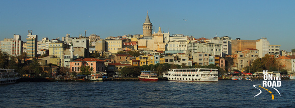 Galata Tower from the Bosphorus, Istanbul