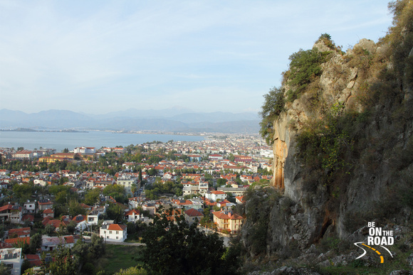 Mediterranean Fethiye and the Lycian Tombs