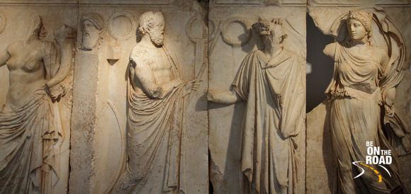 Sculptures from Aphrodisias Museum, Turkey