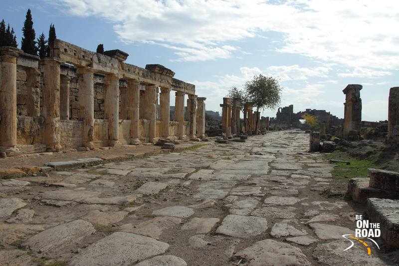 Main street way of Hierapolis, Turkey