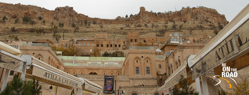 Mardin Citadel view from a local cafe
