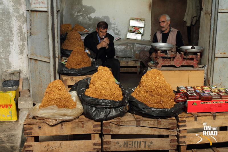Tobacco Store in Bazaar of Mardin, Turkey