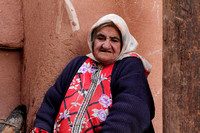 Elderly Woman from Abyaneh, Iran