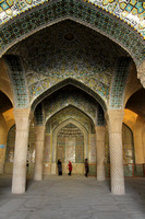 Inside the mosques of Shiraz - a great piece of art