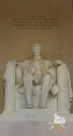 Abraham Lincoln Statue at National Mall, DC