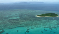 Very picturesque Great Barrier Reef of Australia