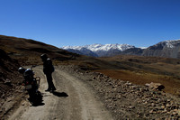 Motorcycling in the high mountains of Spiti