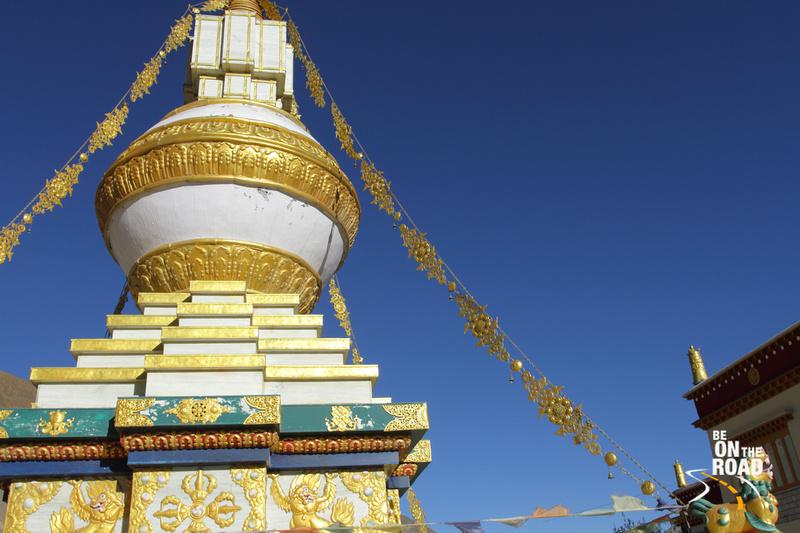 Stupa at Tabo Monastery, Spiti