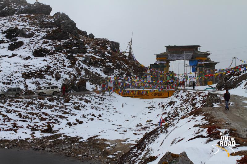 View of Sela Memorial
