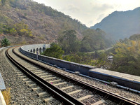The scenic railway ride in India's deep south - Thenmala to Punalur, Kerala