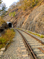 One of the many tunnels in the scenic mountain railway route of India's deep south
