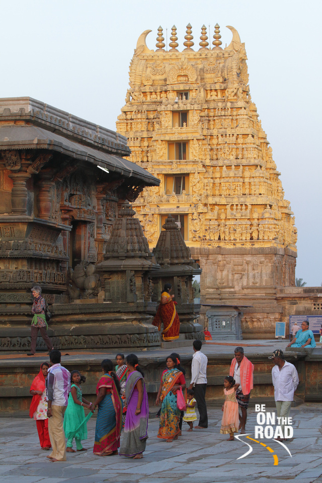 A colorful moment from Chennakeshava temple, Belur, Karnataka