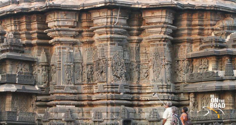 A selfie moment at Belur Chennakeshava temple, Karnataka, India