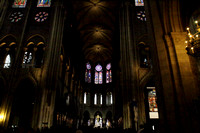 Inside the Notre Dame Cathedral, Paris