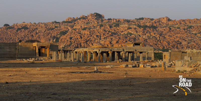 Ruins of Hampi and the rocky landscape