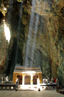 Temple inside marble mountain, Danang
