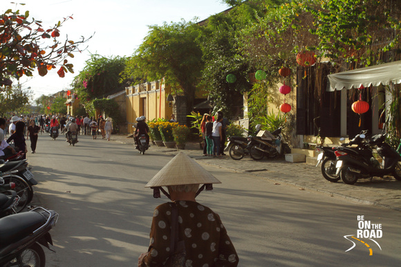 A day in Hoi An old town, Vietnam