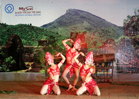 Traditional Apsara Dance at My Son, Vietnam