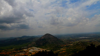 Skandagiri Hills View from Chandrayana Betta