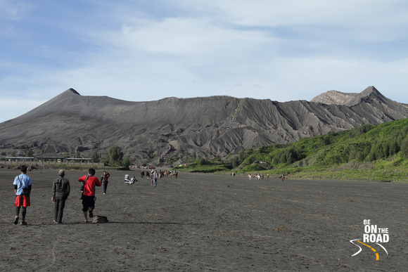 Enroute to the Bromo Crater, Indonesia