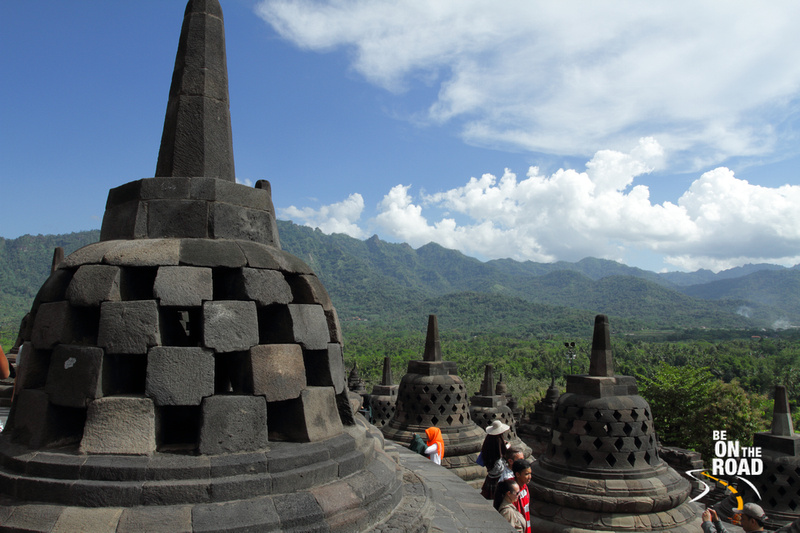 The mighty Borobudur Temple of Indonesia