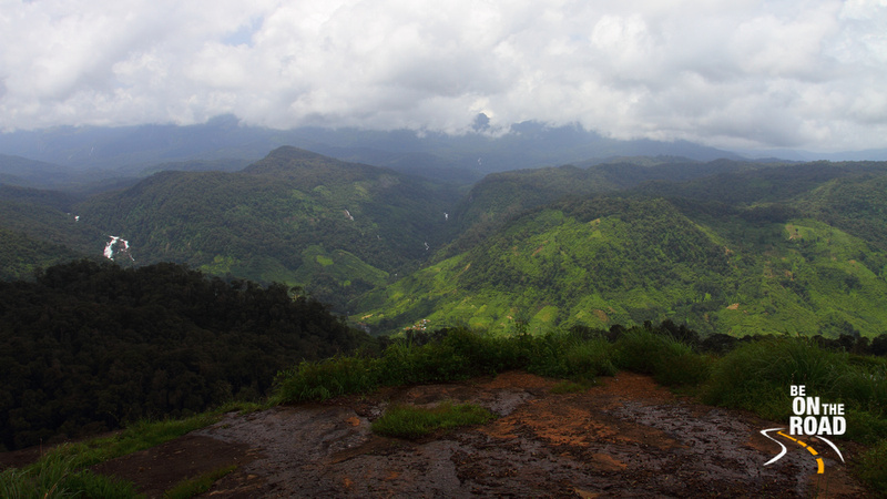 Splendid view of the Western Ghats at Nallamudi Pooncholai, Valparai - 1