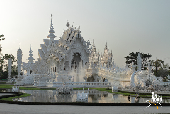 After closing hours at White Temple, Chiang Rai, Thailand