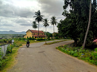 Idyllic setting at Shivanasamudra Town