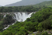 The splendid Barachukki falls on the cuarvery river, Karnataka