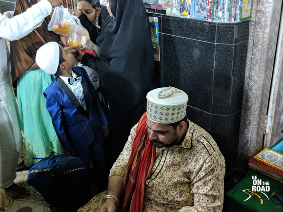 The Talisman giver at the dargah