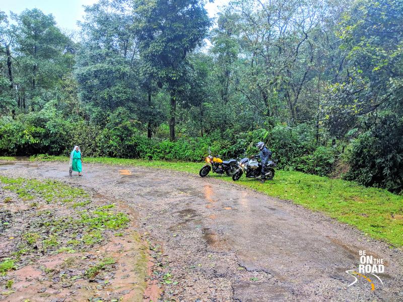 A monsoon motorcycle ride through the coffee estate roads of Malnad, Karnataka