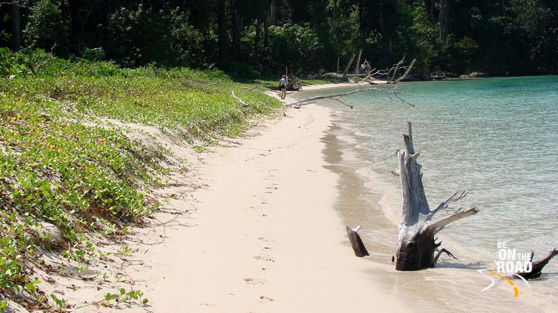 Virgin Beach Stretch on Jolly Buoy Island
