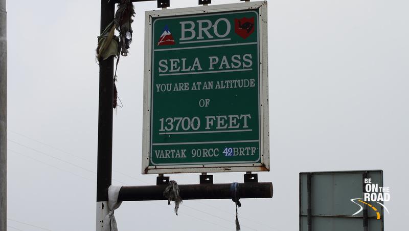 Sela pass at 13,700 feet