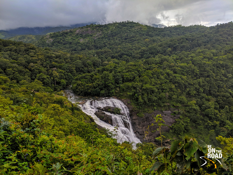 Mallalli Falls surrounded by lush green forests of the Western Ghats