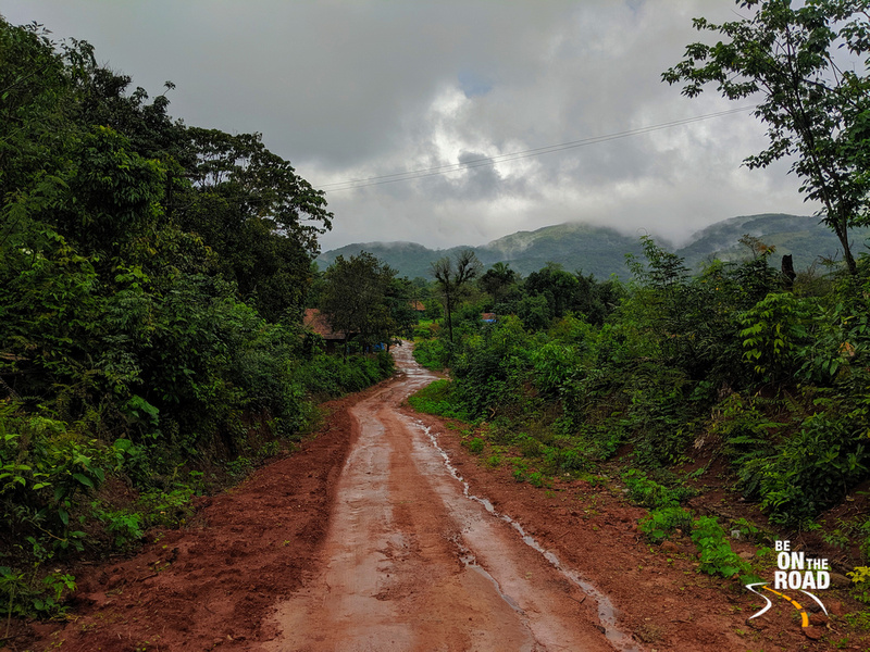 Monsoon magic and dirt tracks - perfect for a monsoon ride in the Western Ghats