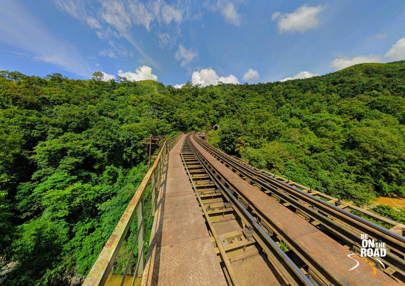 Sakleshpur Yedekumeri Railway Track - Green Route of Karnataka