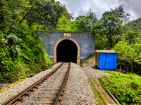 Tunnel 1 on Sakleshpur railway track