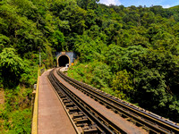 Tunnel 11 on Sakleshpur railway track trek