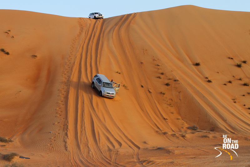 Dune Bashing at Al Sharqiya Sands, Oman