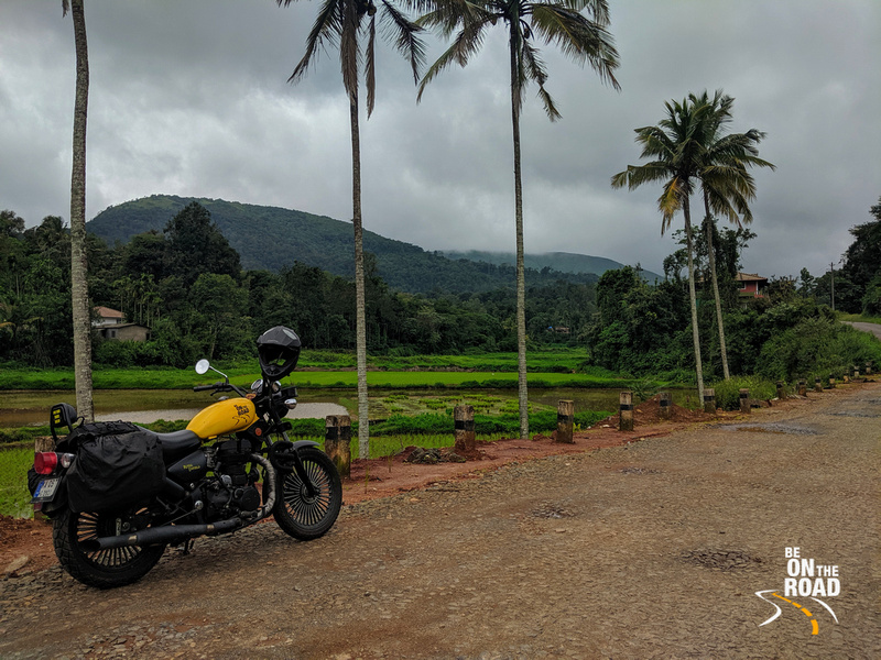 A pitstop during a monsoon motorcycle ride to South Coorg