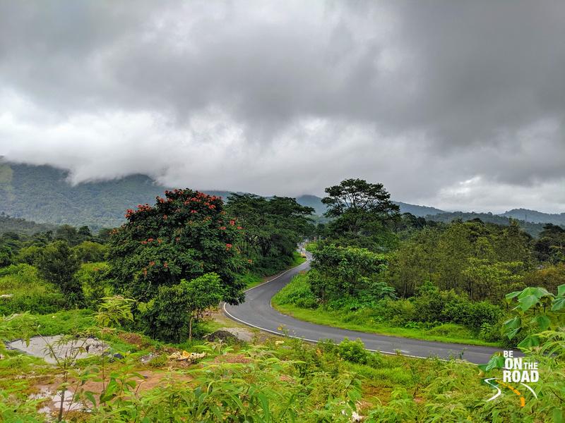 A monsoon view - Bhagamandala to Talacauvery