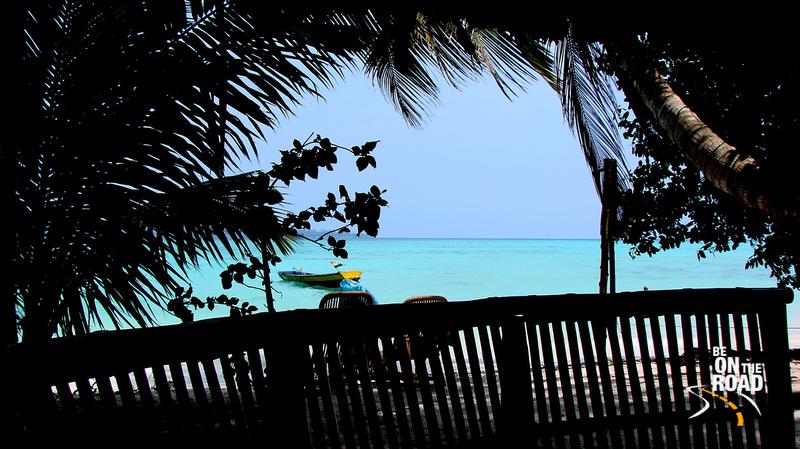 A Bench's eye view - Beach No. 5, Havelock Island