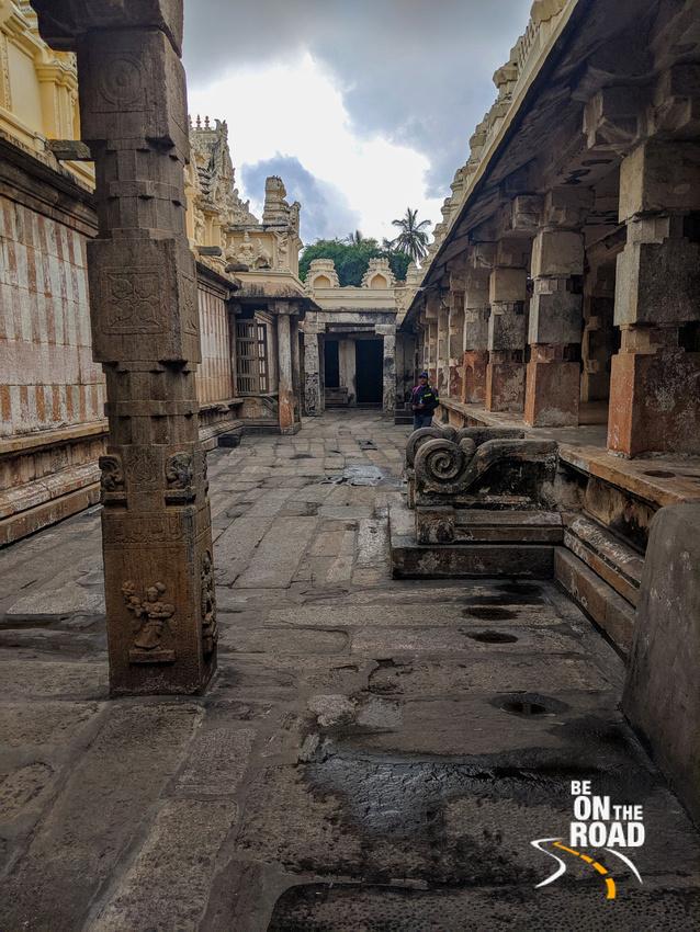 Inside Cheluvanarayana Swamy Temple, Melukote