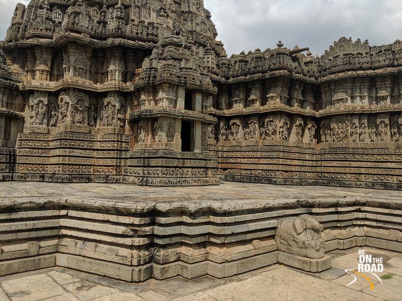Sri Lakshmi Narayana Swamy Temple at Hosaholalu, Karnataka