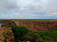 Beautiful Nature - Pennar river canyon at Gandikota, Andhra Pradesh